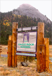 Entrance to Eagle Rock