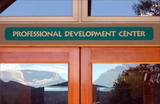 Entrance to the Profressional Development Center